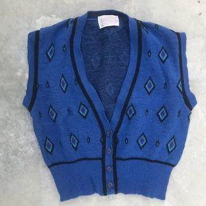 Vintage Pendleton   Southwest Print Wool Vest